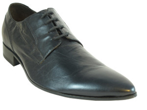 Men's Davinci Dressy Italian Lace up Leather Pointy Shoes 8428