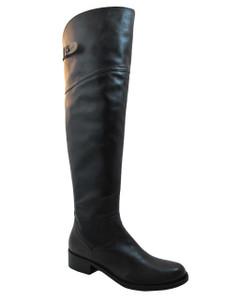 Women's Davinci Italian Leather 2580 Knee High boots Brown