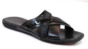Gianfranco Butteri Men's Cushioned Italian Leather Sandals 29987