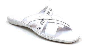 Gianfranco Butteri Men's Cushioned Italian Leather Sandals 29987