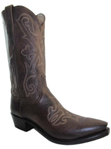 LucchesMen's Lucchese 1883 Cowboy Boots Brown Pointy Toe N1640.54e brown N1640.54