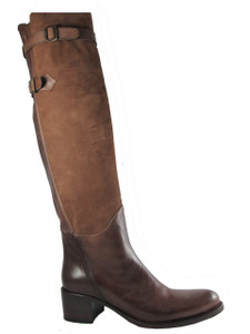 Women's Over the Knee Italian Flat Boots 668342 By Le Pepe