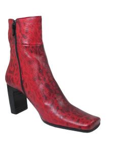 Women's Bellin Italian Lizard Ankle Boots 903