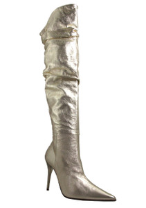 Biondini 5553 Gold over the knee