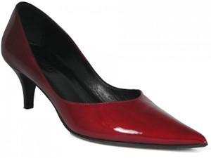 Oxmox 400 Women's  Italian Low Mid Heel Pointy Toe Dressy Shoes