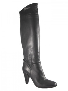 Women's Davinci Low Heel Knee High Italian Leather Boots By Piampiani 498