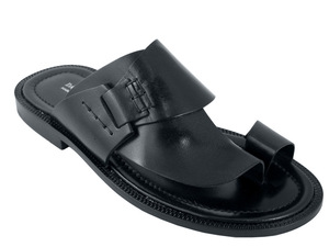 Men's Davinci Italian Leather Push Toe Sandals 1099