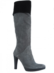 Julie Dee Women's 1018 Grey suede