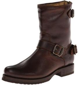Frye Women's Veronica 76603 Back Zip Short Boots