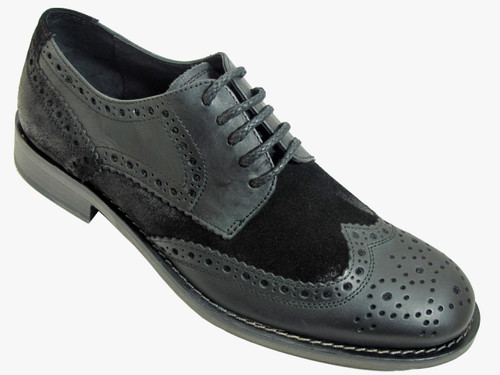 Kenneth Cole Men's Hurry Think Oxford  Lace up Shoes, Black