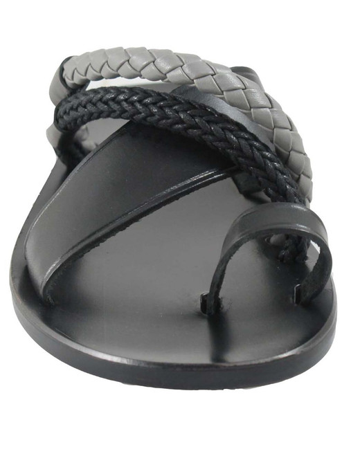 Davinci 2443 Men's Italian Push In Toe Sandal