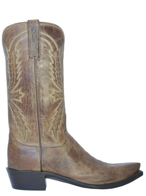 Men's Cowboy Boots Lucchese N1547 .54 Mad dog Tan
