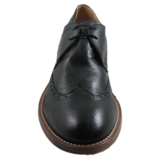 Men's Boemos 4128 Italian Leather Lace Up Wingtip Shoes