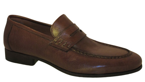 Rossi Men's Italian Leather 1876 Penny Loafers Shoes