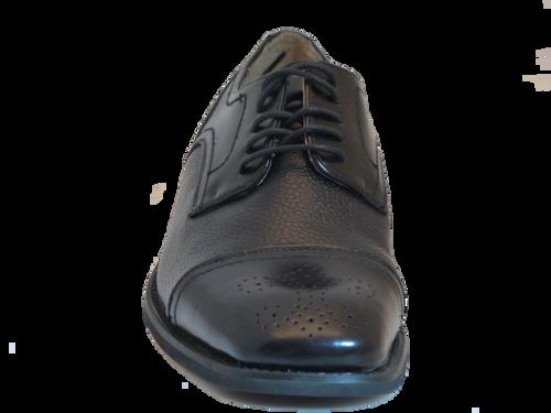 Giorgeo Brutini lace up men's shoes Black 660501