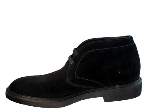 Doucal's men's 1018 ankle boot black