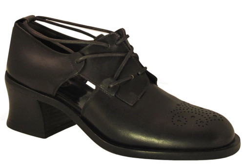 Smith Women's 18803  round toe Black Summer Shoes