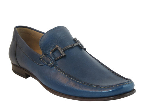 1087 Italian Loafer Blue