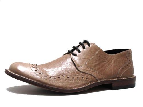 Davinci Men's Italian shoes 6119 in Tan