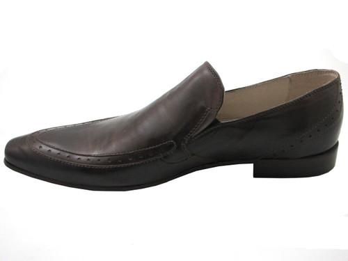 Francesconi 0341 Men's Italian Dress Casual Slip-on Leather Shoes