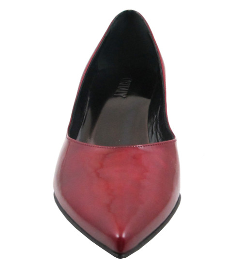 Oxmox 400 Women's  Italian Low Mid Heel Pointy Toe Dressy Shoes