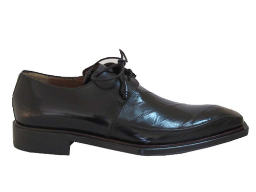 Mezlan Giancomo Men's Dressy Lace Up Eel Skin Shoes