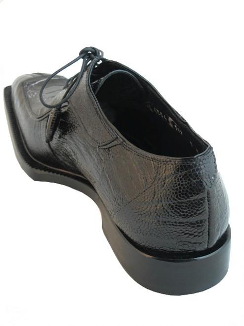 davinci Mauri 4354 Ostrich leg Black/White