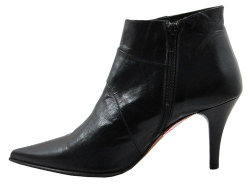 Women's Italian Low Heel Ankle Boot By Designer Oxmox 532