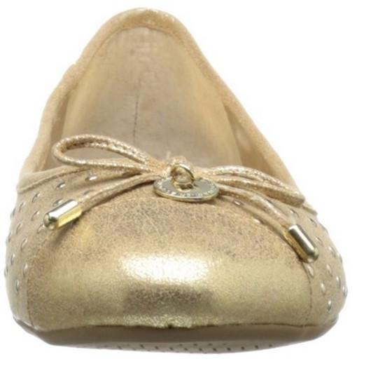 BCBGeneration Women's Wallee Ballet Flat, Gold