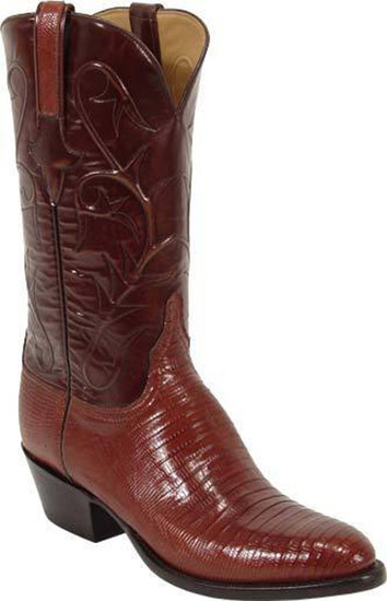Men's Lucchese L1218.24 Classics Peanut Brittle Lizard Custom Hand-Made Boot