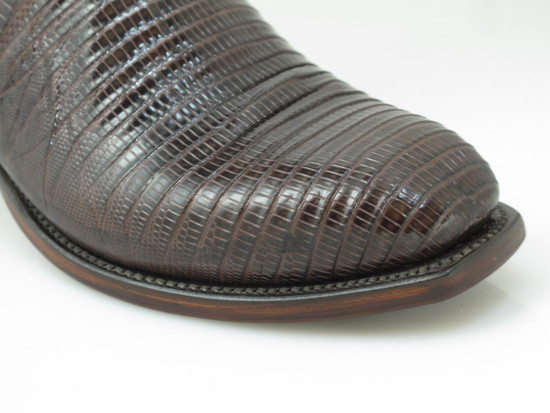 Lucchese T6193 Lizards cowboy boots Brown
