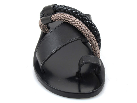 Davinci 2443 Men's Italian Push In Toe Sandal