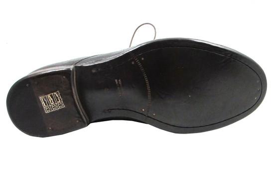 Davinci 9918 Men's Buffalino Tmoro Lace-Up Italian Chukka Ankle Boot in Dark Brown