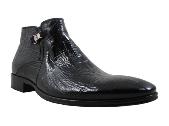 GNV Men's ankle boots black