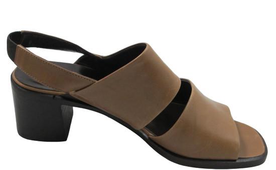 Santa Borella 7219 Women's Italian Leather Sandals, Tan