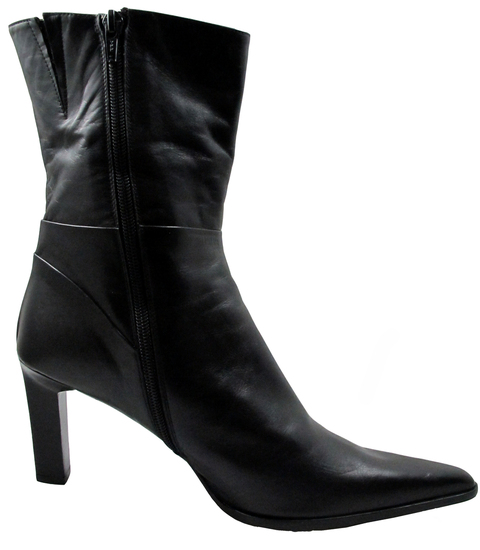 DA'VINCI 2089 Women's Italian Leather Dress/Casual Low square Toe Boot