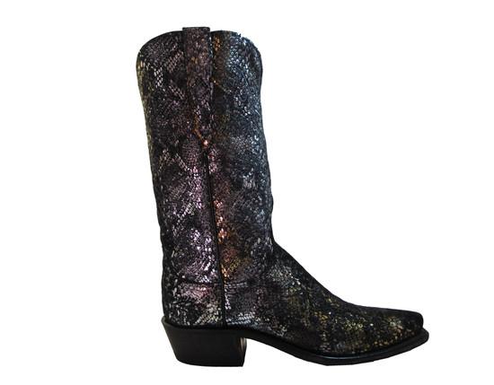 Women's Lucchese N4716.S53 Cowboy boots Precious Metals Python Print