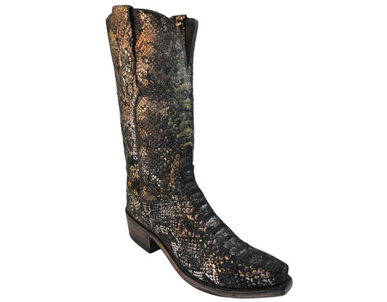 Women's Lucchese N4716.S53 Cowboy boots Precious Metals Python