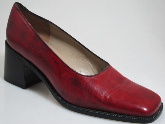 Georgio Pacini 7244 Women Red Leather
