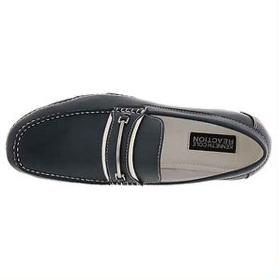Kenneth Cole Men's Vic-tour-y  Leather Slip on Casual Loafer