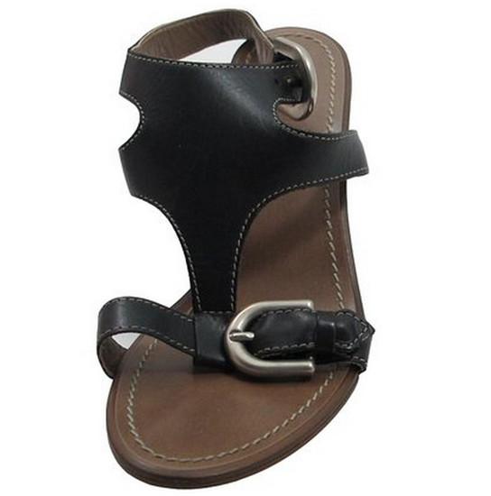 Davinci Italian Designer Women's 3003 Low Heel Dressy/Casual Leather Sandal