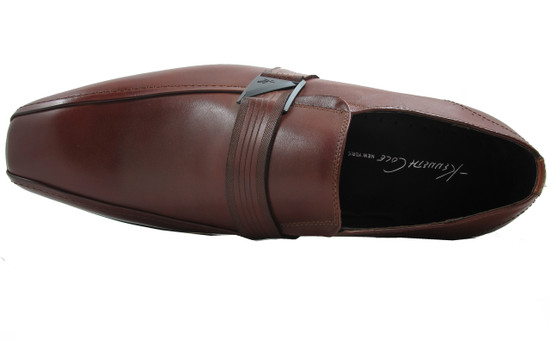 Kenneth Cole U Name It Men's Loafers Shoes, Black and Cognac