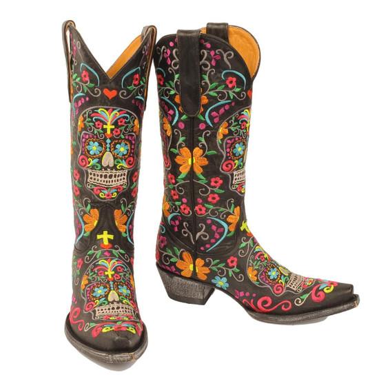Old Gringo Klak Womens Boots - Black L1300-1