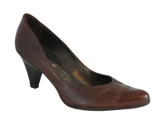 Women's Lamica Syria Italian Leather Low Heel Shoes