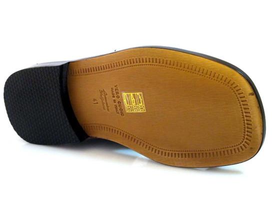 Davinci 3984 Italian Men's Push In Toe Sandals