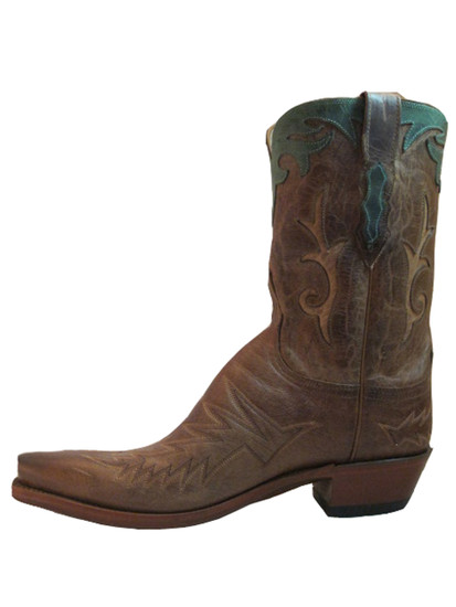 "Lucchese M4620 10"" western boot Tan"