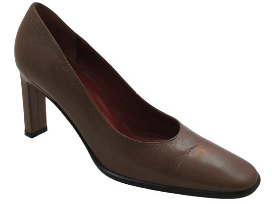 Davinci 3369 Italian Women's Dressy Shoes Black and Tan