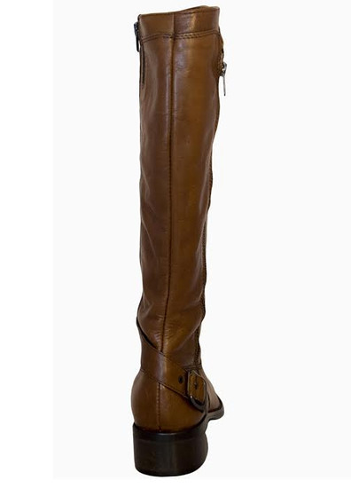 Lamica Women's Iolly Italian Knee High Boots,Tan