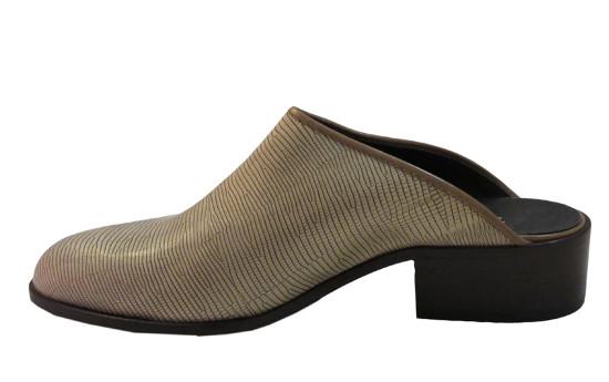 Men's close toe Italian sandal 6450