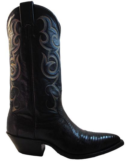 Nocona Women's 1550-28-005 Cowboy Boots Blue Lizard